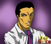 Homosexual therapist attacks patient's meat