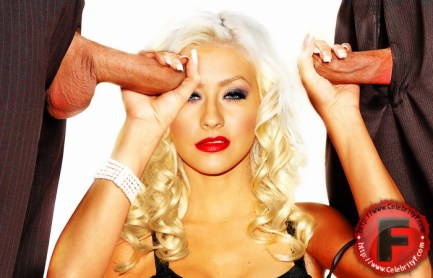 Christina Aguilera pummeled