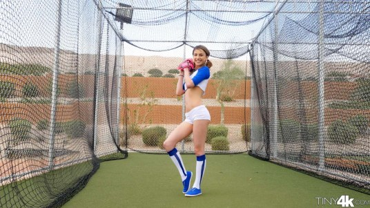Tiny4k Kristen Scott in Baseball Babe 9