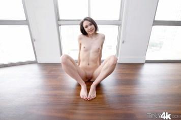 Tiny4k Rhaya Shyne in Tight Teen Hole 4