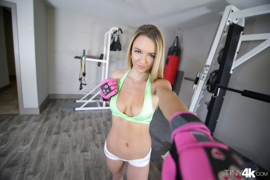 Tiny4k Molly Mae in Tiny Boxer Babe 5
