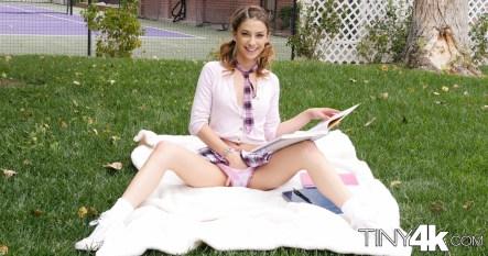 Tiny 4k Kristen Scott in Back To School 4