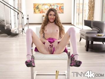 Tiny4k Rebel Lynn in Tiny GIrl, Big New Year Plans 3