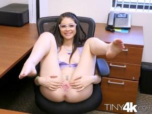 Tiny4k Marina Woods in Office Slut 9