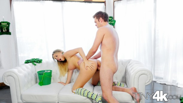 Tiny4k Alexis Adams Fucked Raw For St-Patty's! 15
