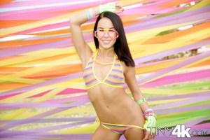 Megan Rain in Sexy Festival Fling 1