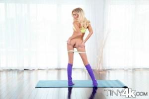 Naomi Woods in Teeny Yoga Facial 1