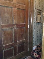 Here's the front door.