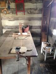 The rebuilt slave cabin.