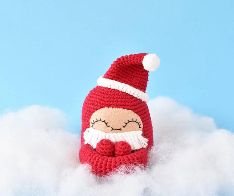 Santa Curlie Add-On Pattern