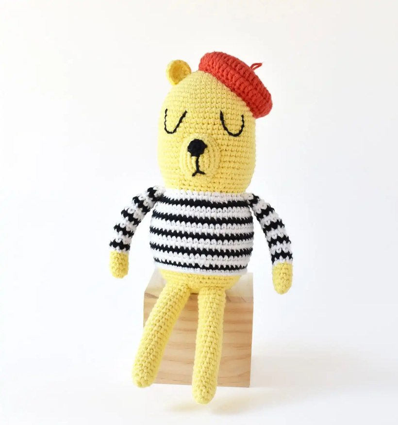 Monsieur Bear Crochet Pattern