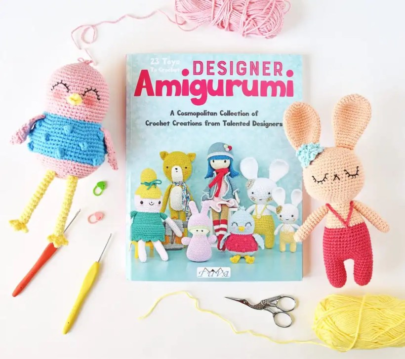 Designer Amigurumi | Crochet Book Review Tiny Curl