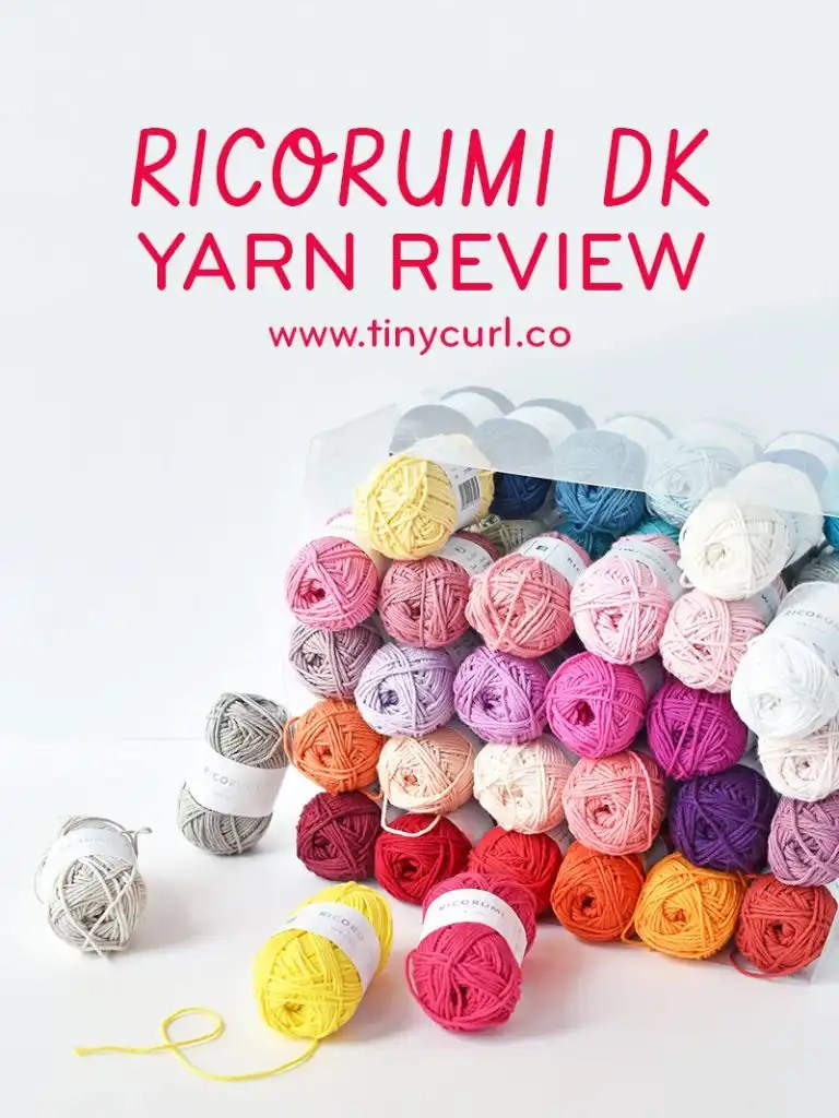 Ricorumi Yarn Review | Tiny Curl Crochet