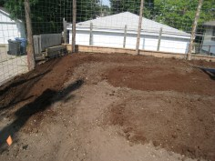 Before the soil import.