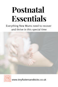 Postnatal essentials for new mums
