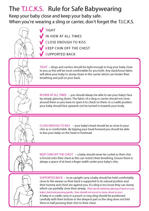 TICKS sling safety guidelines