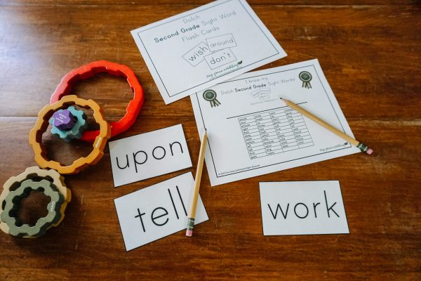 Dolch Sight Words - Second Grade