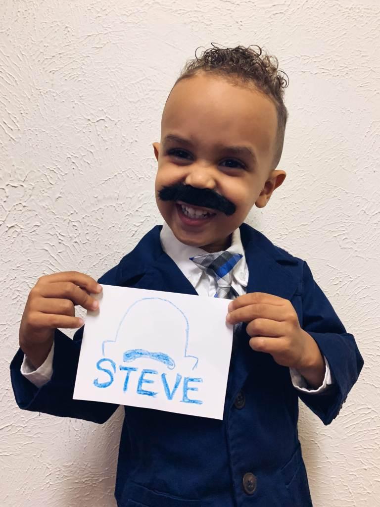 Steve Harvey - toddler Halloween costumes