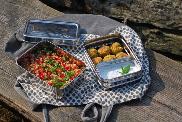 Picknick vegan, EcoBrotbox, EcoBrotbox Erfahrungen, Zero Waste Picknick, Picknickideen vegan