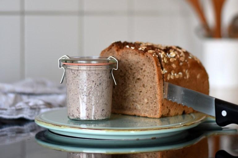Vegane Leberwurst Rezept, Vegane Brotaufstriche selbst machen, Brotaufstrich Rezepte, vegane Aufstriche