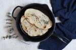 Veganes Naan Brot, Naan Brot vegan, Veganes Naan Brot Rezept, Veganes Naan Brot aus der Pfanne