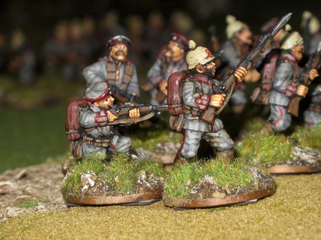 German riflemen