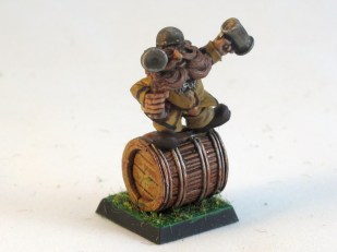 Roll out the barrel!