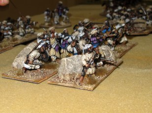 Some nice painting and basing on Reece's tribals here