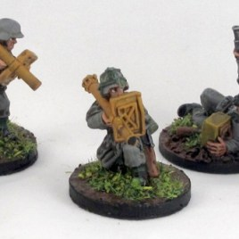 Five WW2 Germans in a variety of poses
