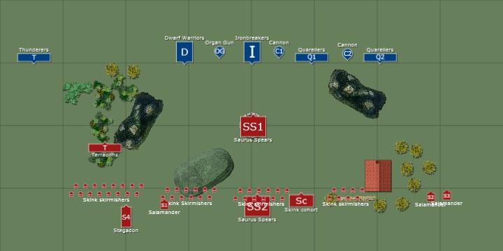 "Deployment (after the Terradon's ""Vanguard"" move)"