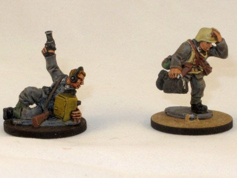 Warlord forward observer and medic