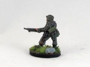 Artizan machinegunner