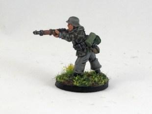 Artizan rifleman in smock