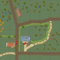 Mortar barrage lands wide