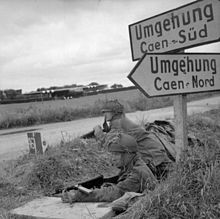 This is what the Germans are fighting to stop: British gliders landed at Ranville, 7th June 44.
