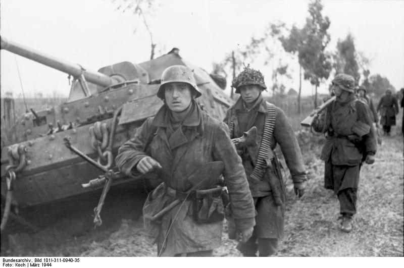 Allied air power knocked out plenty of German armour, but these infantry at Anzio prove the footsloggers fought on