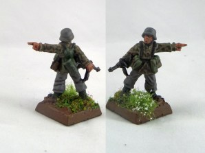 An NCO doing some pointing