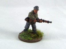 Rifleman in cap