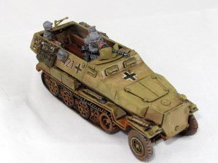 Got two vehicles from Die Waffenkammer; another Hanomag