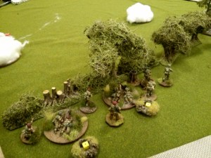 The mortars quickly see off both snipers, but the gun teams are made of sterner stuff