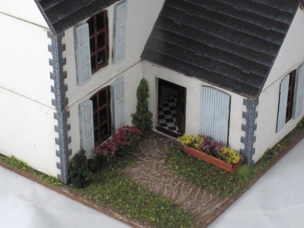 farmhouse back door garden
