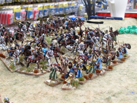 An Arab army with tons of light cavalry and skirmishers