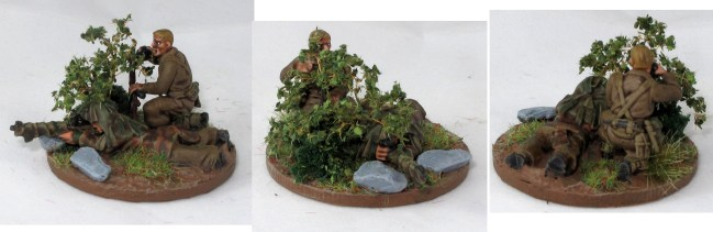 The spotter in this sniper team is another Warlord plastic.