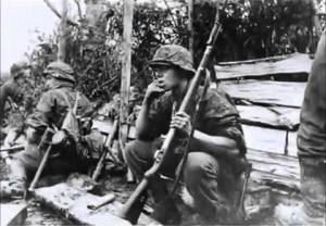 12th SS soldiers during a break in fighting. Both sides lost far more men than they could afford in the fighting around Caen.