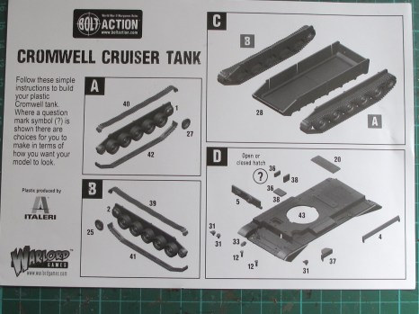 Cromwell instructions 1