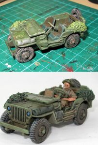 Jeep before after