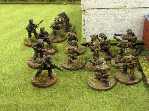 The Germans come out firing!