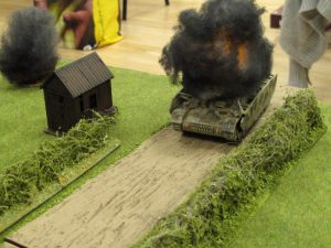 The 6pdr bags the Panzer IV