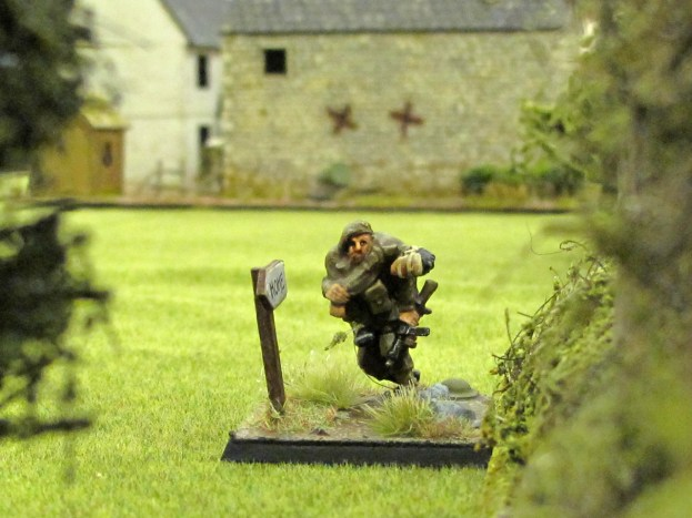 Getting the wounded out: a British JOP
