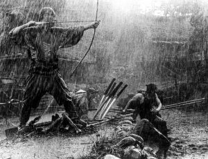 """Ronin battling bandits in """"Seven Samurai"""". The authors have made sure you can field anything you've seen in a movie."""